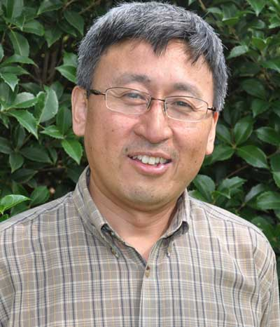 SRS research hydrologist Ge Sun. Photo by U.S. Forest Service.