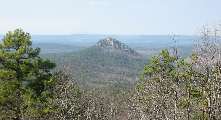 Ouachita Mountains of Arkansas. Photo by Jim Guldin.