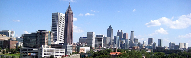 Climate change could have significant impacts on metropolitan Atlanta as well as rural counties in southern Georgia. Photo courtesy of Wikimedia Commons.