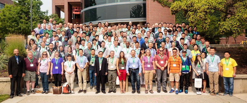 Attendees at the 4th International Conference on Forests and Water in a Changing Environment held this July in British Columbia.