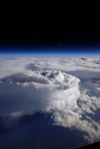 Storm Cell over Southern Appalachians