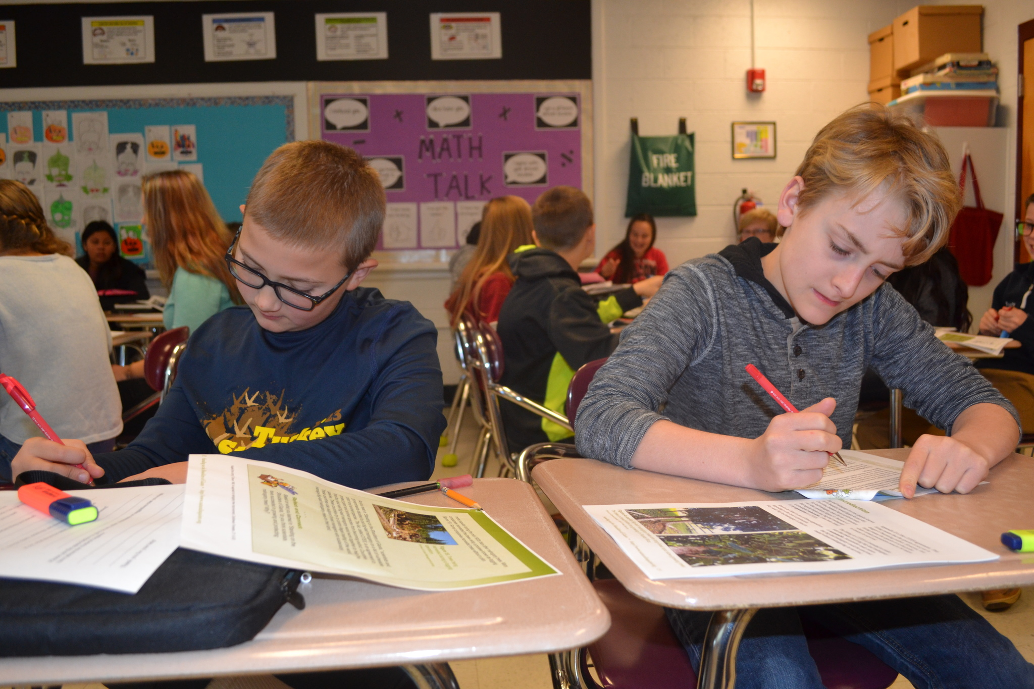 Middle School Students Edit New Natural Inquirer Issue