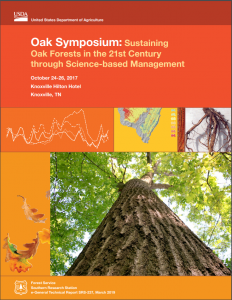 Cover of General Technical Report Oak Symposium Proceedings.