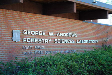 G. W. Andrews Forestry Sciences Laboratory building