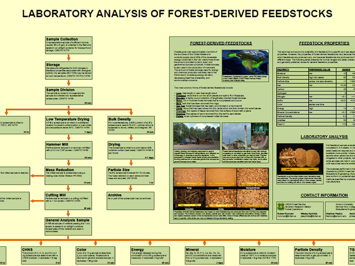 Laboratory Analysis of Forest-Derived Feedstocks