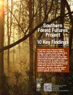 Southern Forest Futures Project: 10 Key Findings
