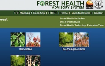 Forest Health Advisory System