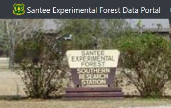 Santee Experimental Forest Data Portal