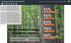 The Southern Forests Products Industry Storymap