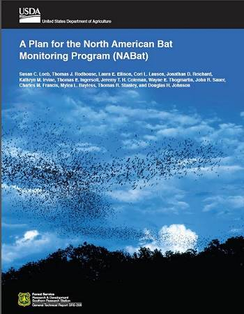 "Cover of ""A plan for the North American Bat Monitoring Program (NABat)"""